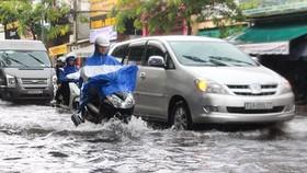 On Truong Cong Dinh street Photo: SGGP