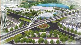 Design of Nguyen Van Linh flyover