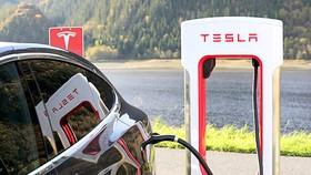 Tesla mở rộng mạng lưới sạc điện