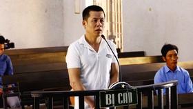 Lưu Văn Bảy tại phiên tòa