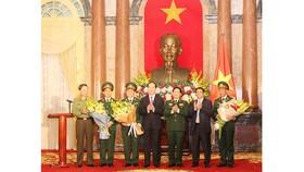 Chủ tịch nước Trần Đại Quang tại buổi lễ trao quyết định. Ảnh: VGP
