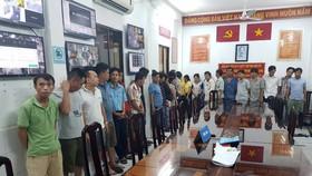 24 đối tượng tại Khu Vui Chơi Giải Trí TV Thái Dương ở địa chỉ 60 đường Hòa Bình, phường 5, quận 11 bị tạm giữ