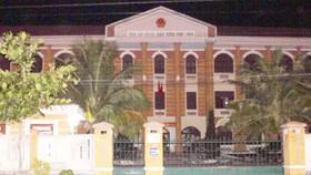 Tòa án nhân dân tỉnh Phú Yên, nơi ông Lộc đã rút ruột 1,1 tỷ đồng tài sản nhà nước