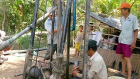 Hạn chế cấp phép khai thác nước ngầm