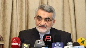 Chủ nhiệm Ủy ban Chính sách đối ngoại và an ninh quốc gia Quốc hội Iran Alaeddin Boroujerdi. Ảnh: AFP/TTXVN