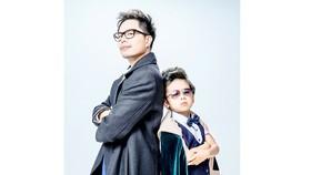 Trịnh Thăng Bình và bé Coca Hoàng Gia Bảo trong phim Ông ngoại tuổi 30