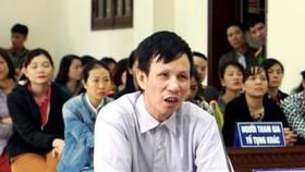 Bị cáo Nguyễn Văn Túc tại tòa. Ảnh: TTXVN