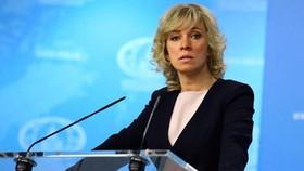 Người phát ngôn Bộ Ngoại giao Nga Maria Zakharova. Ảnh: TASS/TTXVN