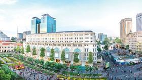 Mandarin Oriental Saigon nằm trong khuôn viên của Union Square, tòa nhà tọa lạc ngay tại trung tâm thành phố