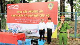 Cảnh sát PCCC Đồng Nai hướng dẫn về chữa cháy và cứu nạn cứu hộ