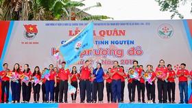 Thành đoàn TNCS TPHCM tổ chức lễ ra quân Chiến dịch Hoa phượng đỏ năm 2018