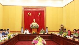 Sớm kiện toàn Đảng ủy Công an Trung ương phù hợp mô hình tổ chức mới