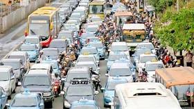Cách giảm tắc nghẽn giao thông ở Jakarta