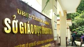 Đề nghị truy tố nhiều cán bộ Sở GD-ĐT tỉnh Hòa Bình