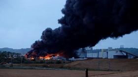 Cháy nhà máy hóa chất gây nguy cơ ô nhiễm sông Seine