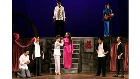 Một cảnh trong vở Bỉ vỏ của sân khấu kịch Hồng Vân