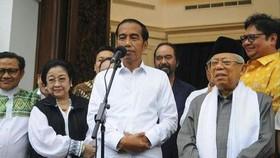 Tổng thống Indonesia tuyên thệ nhậm chức nhiệm kỳ 2