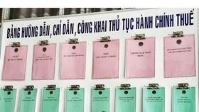 Cách chức cán bộ thuế nhũng nhiễu hộ kinh doanh