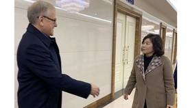 Triều Tiên - Nga thảo luận hợp tác chiến lược