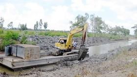 Các tỉnh ĐBSCL cần khẩn trương nạo vét thủy lợi tích trữ nước