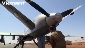 Quân đội Pháp sử dụng máy bay không người lái ở Mali