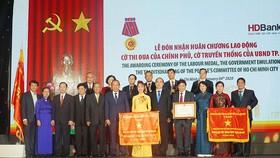 Lãnh đạo Trung ương và TPHCM tại buổi lễ kỷ niệm 30 năm ngày thành lập HDBank