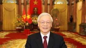 Việt - Nga trao đổi điện mừng kỷ niệm 70 năm thiết lập quan hệ ngoại giao
