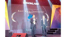Sonkim Land vinh danh Hòa Bình là nhà thầu Tổng hợp xuất sắc
