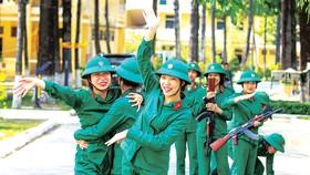 Một ngày của nữ tân binh