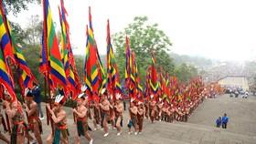 Giỗ Tổ Hùng Vương - Lễ hội đền Hùng năm nay chỉ tổ chức phần lễ, không tổ chức phần hội  nên người tham dự sẽ không đông như mọi năm. Ảnh: VIẾT CHUNG