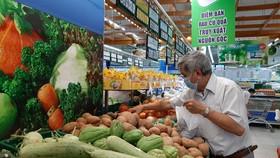 Hàng hóa đầy ắp trong các siêu thị