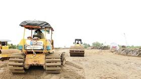 Thi công tuyến cao tốc Trung Lương - Mỹ Thuận đạt hơn 40% khối lượng