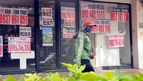 Rao bán nhà phố tại quận 7 (TPHCM). Ảnh: CAO THĂNG