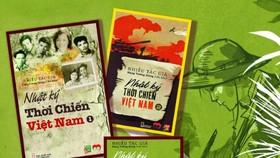 """Bộ sách """"Nhật ký thời chiến Việt Nam"""". Nguồn: Nhà xuất bản Hội Nhà văn"""