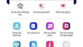 Hoàn thiện 2 ứng dụng thông tin về quy hoạch, xây dựng
