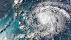 Hình ảnh bão qua vệ tinh. Nguồn: edition.cnn.com