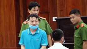 Bị cáo Nguyễn Minh Hùng. Ảnh: MAI HOA