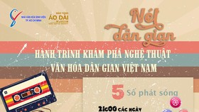 Hành trình khám phá nghệ thuật văn hóa dân gian Việt Nam - Nét dân gian