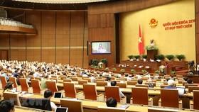 Kỳ họp thứ 9, Quốc hội khóa XIV. Ảnh: Văn Điệp/TTXVN
