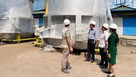 Đoàn công tác Sở Công thương TPHCM tìm hiểu khó khăn của doanh nghiệp sản xuất
