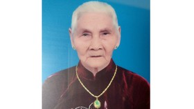 Bà mẹ Việt Nam anh hùng Đào Thị Xinh