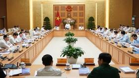 Toàn cảnh phiên họp - Ảnh: VGP/Quang Hiếu
