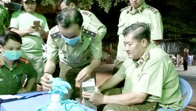 Thu giữ gần 4,5 triệu găng tay y tế giả
