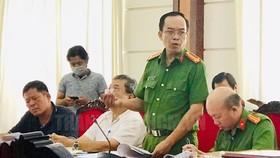 Các đại biểu góp ý dự án Luật phòng chống ma túy (sửa đổi). Nguồn: Thanhuytphcm