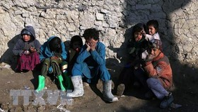 Trẻ em tại một trại tị nạn. Ảnh: TTXVN