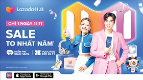 Lee Min Ho đồng hành Lazada trong Lễ hội mua sắm 11-11
