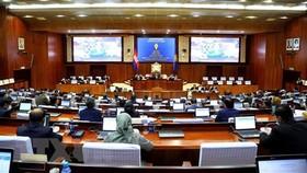 Toàn cảnh một phiên họp Quốc hội Campuchia. Nguồn: TTXVN