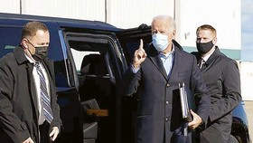 Mật vụ Mỹ bảo vệ ông Joe Biden