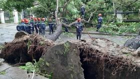 Dự báo bão số 13 đi vào đất liền các tỉnh từ Hà Tĩnh đến Thừa Thiên - Huế