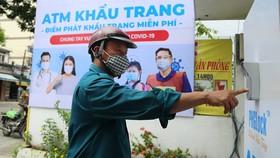 Cây ATM gạo, khẩu trang - một hoạt động đổi mới sáng tạo tại TPHCM